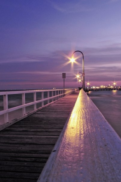 Beloved Port Melbourne at Dusk