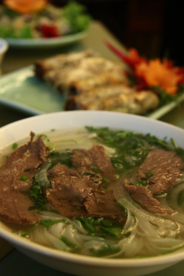 What a bowl of pho looks like